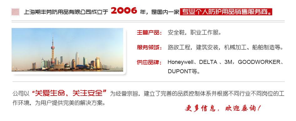 上海期丰劳防用品有限公司-公司简介